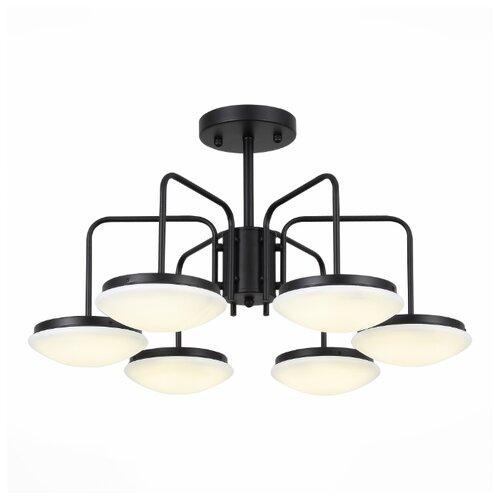 Люстра светодиодная ST Luce Pratico Black SLE120.402.06, LED, 72 Вт цена 2017