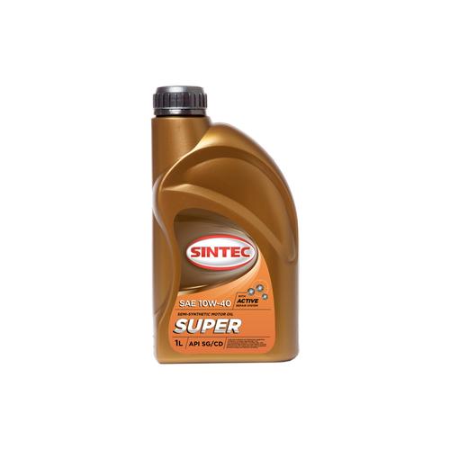 Полусинтетическое моторное масло SINTEC Super 10W-40, 1 л