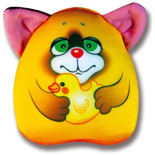 Игрушка для ванной Штучки, к которым тянутся ручки Водоплавчики Лиса (15аси17мив-1) желтый штучки к которым тянутся ручки игрушка для ванной колобашки зайчик