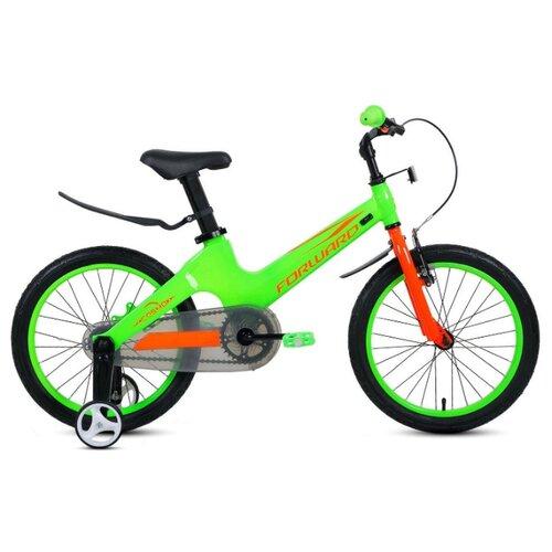 Детский велосипед FORWARD Cosmo 18 (2020) зеленый (требует финальной сборки)