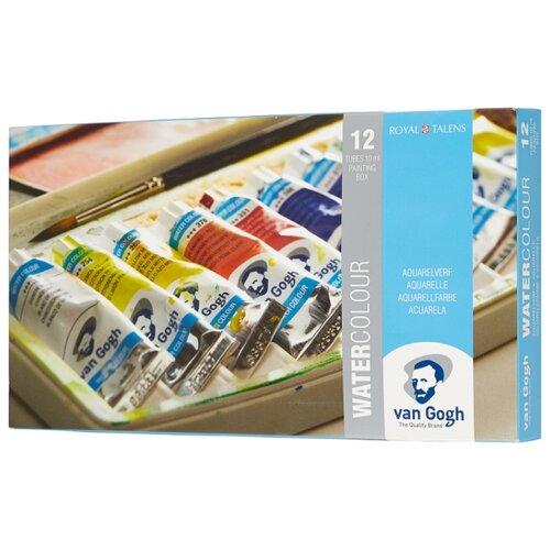 Van Gogh Акварельные краски Water colour 12 цветов 10 мл (20800112) светильник nowodvorski van gogh led n9351