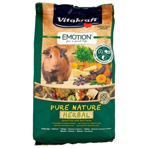 Корм для морских свинок Vitakraft Emotion Pure Nature Herbal 600 г