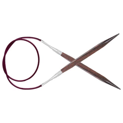 Купить Спицы Knit Pro Cubics 25348, диаметр 6.5 мм, длина 100 см, коричневый