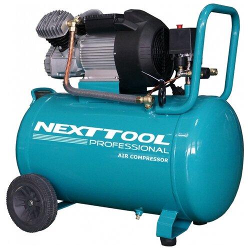 Компрессор масляный NEXTTOOL КМК-2300/100V, 100 л, 2.3 кВт компрессор масляный elitech кпм 360 25 25 л 2 2 квт