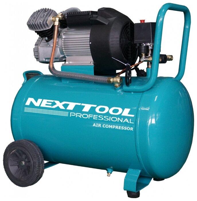 Компрессор масляный NEXTTOOL КМК-2300/100V, 100 л, 2.3 кВт