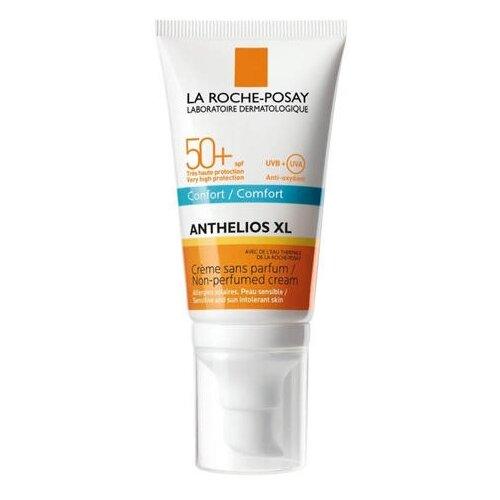 La Roche-Posay крем Anthelios XL Comfort без запаха, SPF 50, 50 мл la roche posay крем барьер la roche posay cicaplast для рук 50 мл