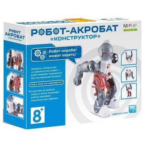 Электромеханический конструктор ND Play На элементах питания 265616 Робот-акробат конструктор nd play nd play mp002xu02g3a
