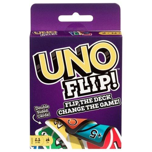 Фото - Настольная игра Mattel Uno Flip GDR44 настольная игра mattel uno w2087