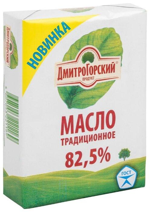 Дмитрогорский Продукт Масло сливочное Традиционное 82.5%, 180 г