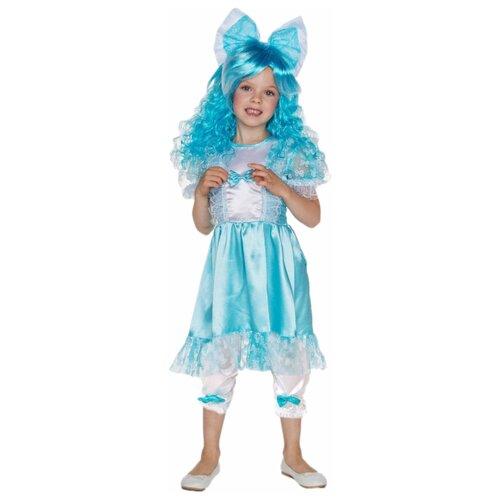 Купить Костюм ВКостюме.ру Мальвина (1027657), голубой, размер 113, Карнавальные костюмы
