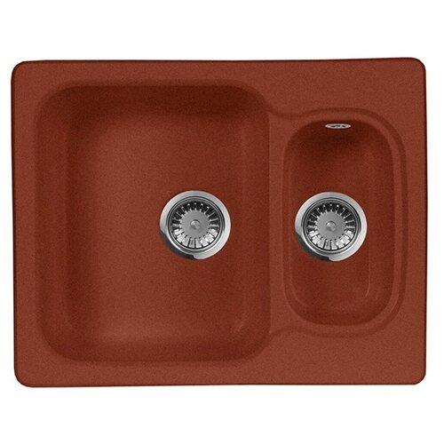 Фото - Врезная кухонная мойка 61 см А-Гранит M-09 красный марс врезная кухонная мойка 61 см а гранит m 09 песочный