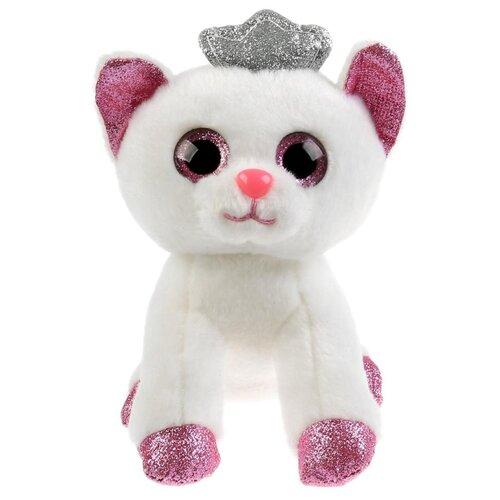 Купить Игрушка мягкая Белая Кошечка, 15см, Мульти-Пульти, Мягкие игрушки