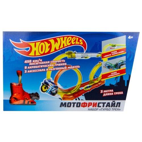Трек Hot Wheels Мотофристайл Т16722 трек hot wheels турбо трек т14099