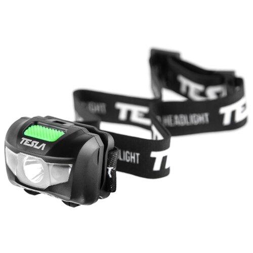 Налобный фонарь Tesla HL2 черно-зеленый фонарь автомобильный tesla lk9 250a чёрный зеленый