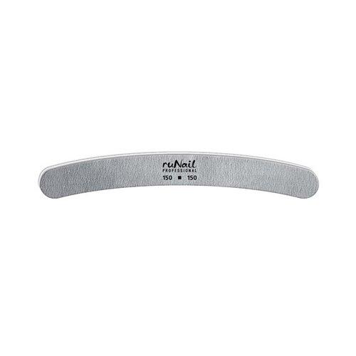 Runail Профессиональная пилка для искусственных ногтей, 150/150 грит серый