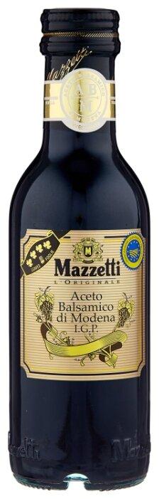 Уксус Mazzetti l'Originale бальзамический из Модены 4 листочка 250 мл