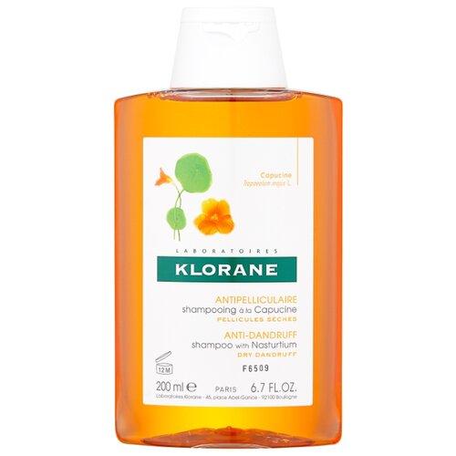 Klorane шампунь Anti-Dandruff and Purifying with nasturtium 200 мл детский шампунь klorane
