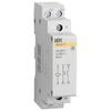 Модульный контактор IEK MKK10-20-20 20А