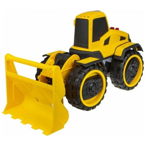 Купить Погрузчик 1 TOY Горстрой (Т16944) 20 см желтый, Машинки и техника