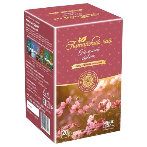 цена на Чай травяной Талисман Алтая Нежный букет в пакетиках , 20 шт.
