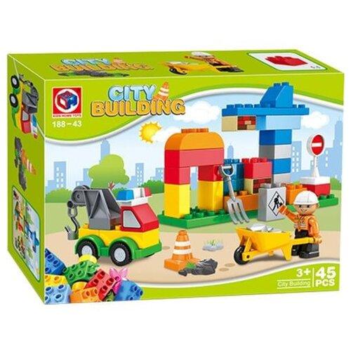 Конструктор Kids home toys City Building 188-43 конструктор kids home toys happy farm 188 133