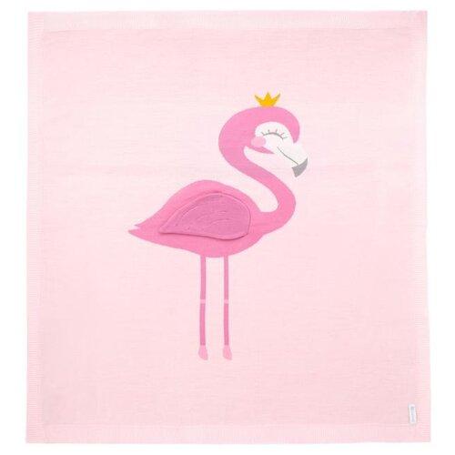 Купить Плед Крошка Я Фламигнго 90х90 см розовый, Покрывала, подушки, одеяла