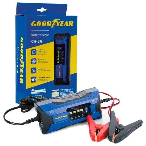 Зарядное устройство GOODYEAR CH-2A синий/черный