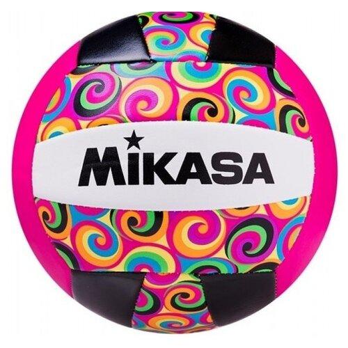 Волейбольный мяч Mikasa GGVB черно-розовый