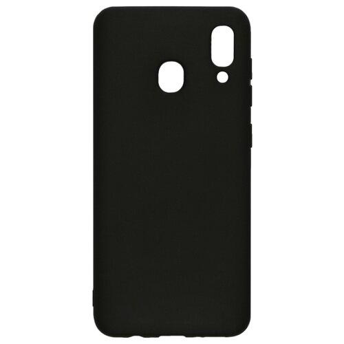 Чехол LuxCase TPU для Samsung Galaxy A20 (2019) черный