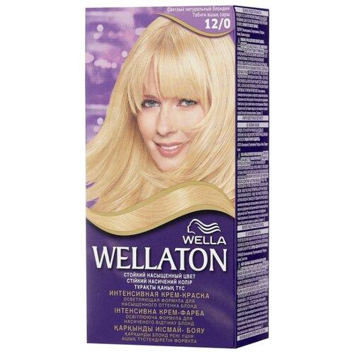 Wellaton стойкая крем-краска для волос, 12/0 светлый натуральный блондин холодный светлый блондин