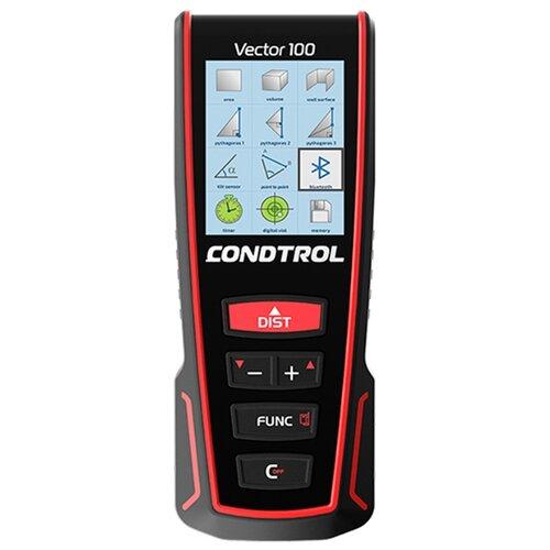 Фото - Лазерный дальномер Condtrol Vector 100 100 м черный/красный лазерный дальномер condtrol vector 600