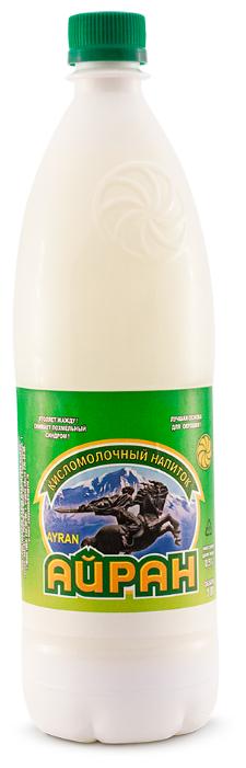 Ростовский завод плавленых сыров Айран 0.5% 1 л