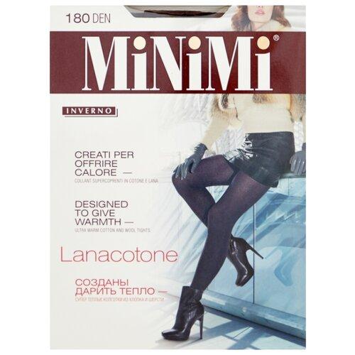 Колготки MiNiMi Lanacotone 180 den, размер 2-S/M, moka (коричневый) колготки minimi lanacotone 180 den размер 2 s m fumo серый