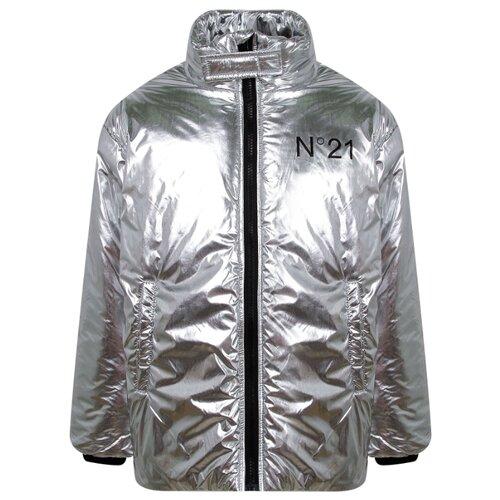 Купить Куртка N° 21 размер 164, серебряный, Куртки и пуховики