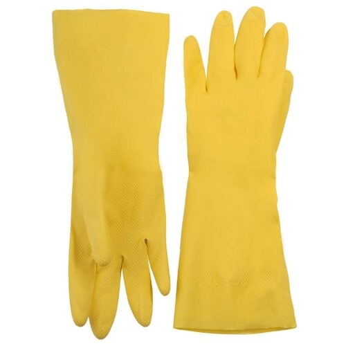 Перчатки STAYER Master латексные 1120, 1 пара, размер L, цвет желтый