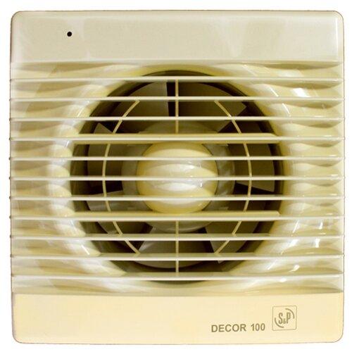Вытяжной вентилятор Soler & Palau DECOR 100 C, ivory 13 Вт цена 2017