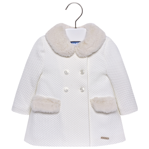 Пальто Mayoral 2482 размер 98, бежевый, Пальто и плащи  - купить со скидкой