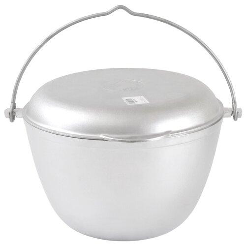 Набор туристической посуды Kukmara кп50, 2 шт. серебристый