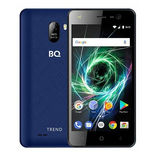 Смартфон BQ 5009L Trend темно-синий смартфон