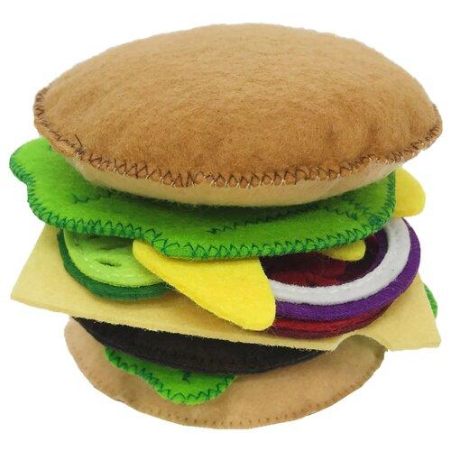 Купить Набор продуктов Santa Lucia Набор Гамбургер sl3041 разноцветный, Игрушечная еда и посуда