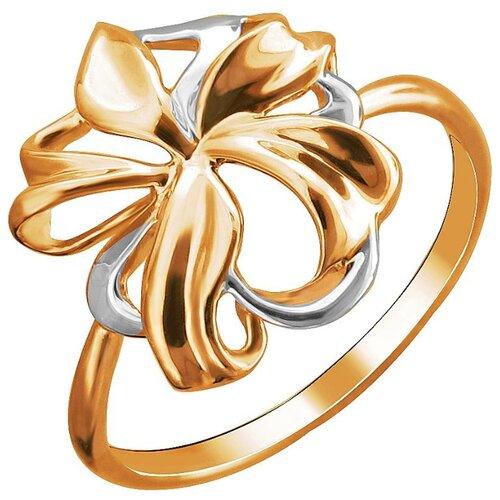 Эстет Кольцо из красного золота 01К0112833Р, размер 18.5 фото