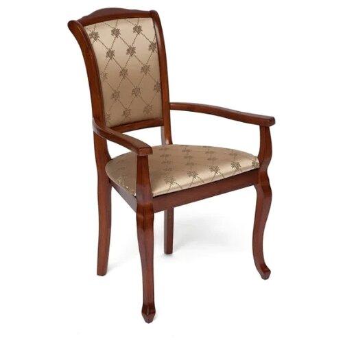 Комплект стульев TetChair Geneva (GN-AC), дерево/текстиль, 2 шт., цвет: Maf brown стул tetchair geneva