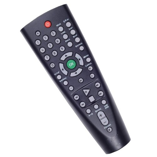 Пульт ДУ BBK RC138 для для телевизоров BBK DVP176SI/DV138SI/DVP155SI/DVP159SI/DVP459SI черный
