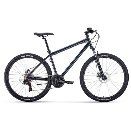цена на Горный (MTB) велосипед FORWARD Sporting 27.5 2.0 Disc (2020) серый/черный 19 (требует финальной сборки)