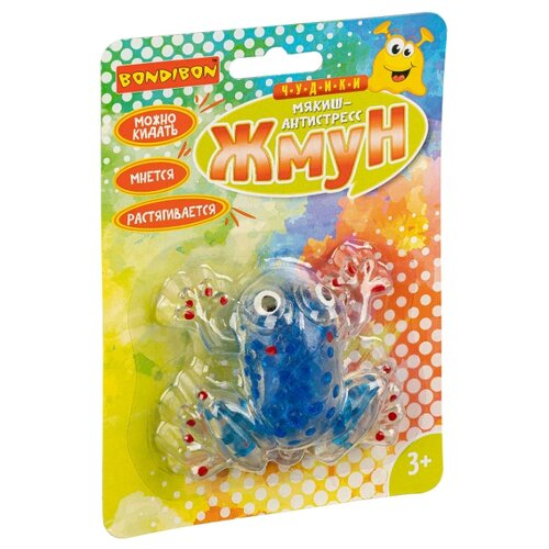 Игрушка-мялка BONDIBON Чудики Жмун лягушка