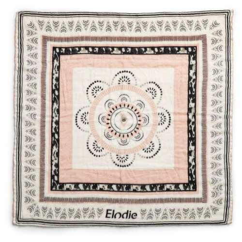 Купить Плед Elodie Desert Weaves 80х80 см розовый/белый/желтый, Покрывала, подушки, одеяла
