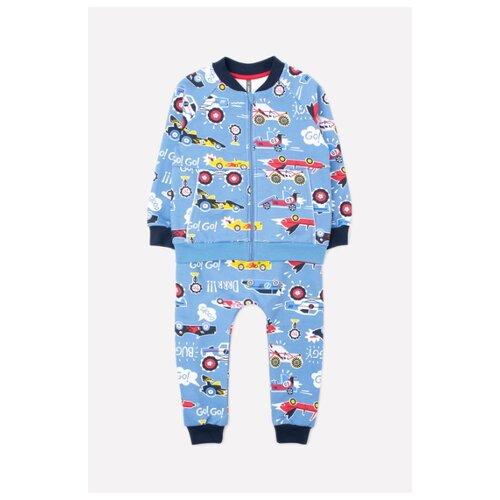 Комплект одежды crockid размер 98, синий