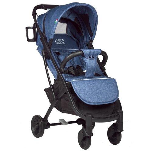 Прогулочная коляска SWEET BABY Compatto blue прогулочная коляска sweet baby suburban compatto black