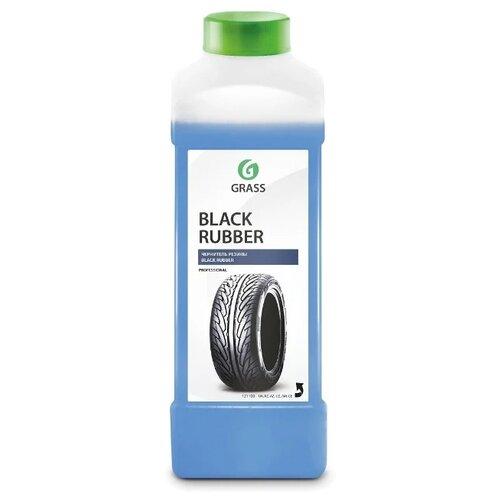 Очиститель-полироль шин GraSS Black rubber 121100, 1 л, концентрат 1 шт.