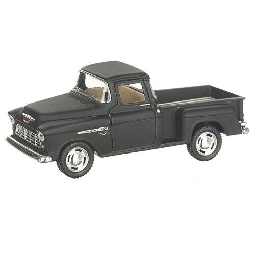 Купить Детская инерционная металлическая машинка с открывающимися дверями, модель Chevrolet Nomad hardtop матовый, черный, Serinity Toys, Машинки и техника